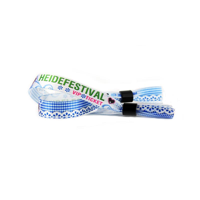 Festival, Eintrittsband, Armband, Digitaldruck, bedrucktes Band, Verschluss