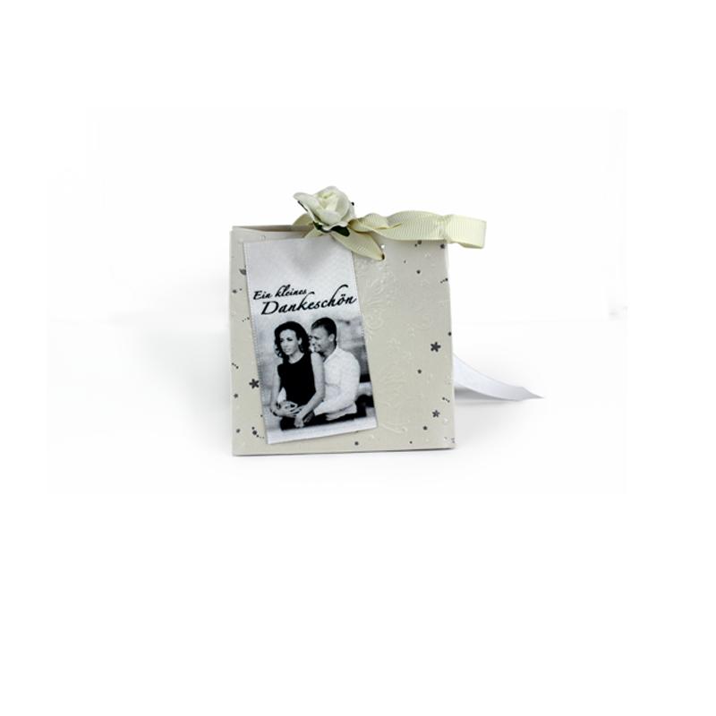 Digitaldruck, Hochzeit, Geschenkidee, Schleife, bedrucktes Band