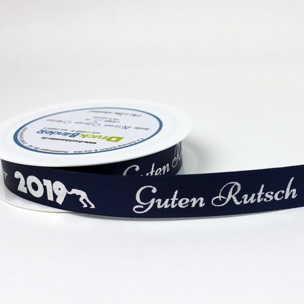 Dekoband, Geschenkband, Silvester, 2019, Guten Gutsch, 2020