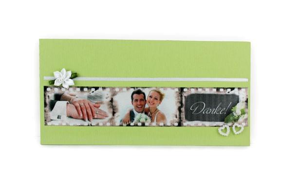 mehrfarbig bedrucktes Band, Satinband bedruckt, Namensband, Hochzeit, Tischdeko, Premium Print, Foto drucken